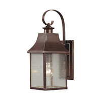 ELK Lighting Town Square 1 Light Outdoor Wall Sconce in Hazelnut Bronze 47001/1