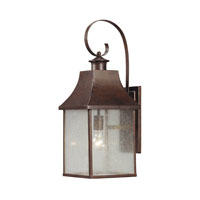 ELK Lighting Town Square 1 Light Outdoor Wall Sconce in Hazelnut Bronze 47002/1