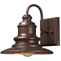 Marina 1 Light 8 inch Hazelnut Bronze Outdoor Wall Sconce in Standard