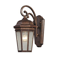 ELK Lighting Fullerton 1 Light Outdoor Wall Sconce in Hazelnut Bronze 47030/1