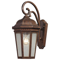 ELK Lighting Fullerton 1 Light Outdoor Wall Sconce in Hazelnut Bronze 47031/1