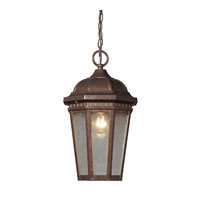 Fullerton 1 Light 8 inch Hazelnut Bronze Outdoor Hanging Lantern