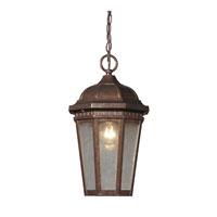 ELK Lighting Fullerton 1 Light Outdoor Hanging Lantern in Hazelnut Bronze 47032/1 photo thumbnail