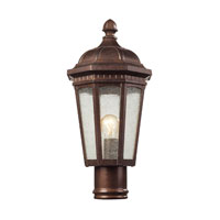 ELK Lighting Fullerton 1 Light Outdoor Post Light in Hazelnut Bronze 47033/1