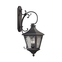 ELK Lighting Forged Camden 3 Light Outdoor Wall Sconce in Charcoal 47083/3