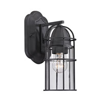 ELK Lighting Rowland 1 Light Outdoor Wall Sconce in Charcoal 47095/1