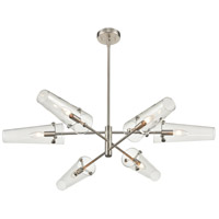 ELK 47227/6 Valante 55 inch Satin Nickel Chandelier Ceiling Light