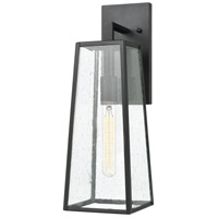 Mediterrano 1 Light 18 inch Charcoal Outdoor Wall Sconce