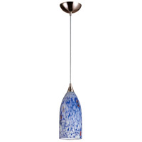 ELK Lighting Verona 1 Light Pendant in Satin Nickel 502-1BL-LED