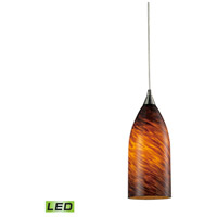 ELK Lighting Verona 1 Light Pendant in Satin Nickel 502-1ES-LED