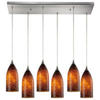 ELK Lighting Verona 6 Light Pendant in Satin Nickel 502-6RC-ES photo thumbnail