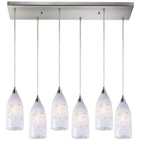 ELK Lighting Verona 6 Light Pendant in Satin Nickel 502-6RC-SW