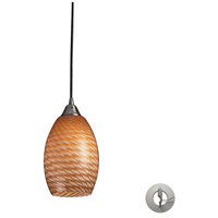 ELK Lighting Mulinello 1 Light Pendant in Satin Nickel 517-1C-LA