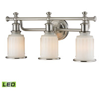 ELK Lighting Acadia LED Bath Bar in Brushed Nickel 52002/3-LED