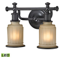 ELK 52011/2-LED Acadia LED 13 inch Oil Rubbed Bronze Vanity Light Wall Light