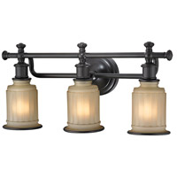 ELK 52012/3 Acadia 3 Light 22 inch Oil Rubbed Bronze Vanity Light Wall Light in Incandescent