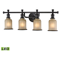 Acadia LED 30 inch Oil Rubbed Bronze Bath Bar Wall Light in 4