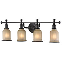 ELK 52013/4 Acadia 4 Light 30 inch Oil Rubbed Bronze Vanity Light Wall Light in Incandescent