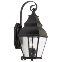 Bristol 2 Light 22 inch Charcoal Outdoor Sconce