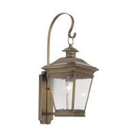 ELK Lighting Reynolds 1 Light Outdoor Sconce in Oiled Rubbed Brass 5235-ORB