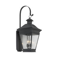 Reynolds 2 Light 28 inch Charcoal Outdoor Sconce