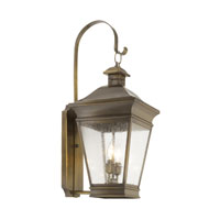 ELK Lighting Reynolds 2 Light Outdoor Sconce in Oiled Rubbed Brass 5236-ORB