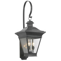 Reynolds 3 Light 35 inch Charcoal Outdoor Sconce