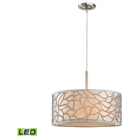 ELK Lighting Autumn Breeze LED Pendant in Brushed Nickel 53001/3-LED