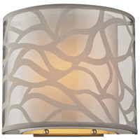 ELK Lighting HGTV HOME Autumn Breeze 1 Light Wall Sconce in Brushed Nickel 53002/1