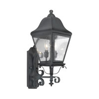 ELK Lighting Belmont 3 Light Outdoor Sconce in Charcoal 5310-C