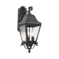 ELK Lighting Belmont 3 Light Outdoor Sconce in Charcoal 5312-C