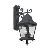 ELK Lighting Belmont 3 Light Outdoor Sconce in Charcoal 5315-C