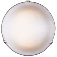 ELK Lighting Circolo 3 Light Flush Mount in Dark Rust Or White Clips 532-3WH