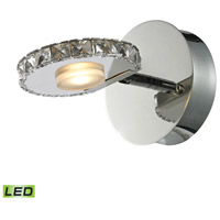 Spiva 1 Light 5 inch Polished Chrome Bath Bar Wall Light