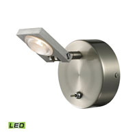 ELK Lighting Reilly LED Bath Bar in Brushed Nickel & Brushed Aluminum 54010/1