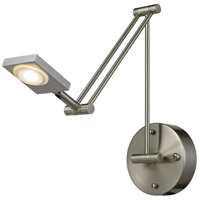 ELK Lighting Reilly 1 Light Swingarm in Brushed Nickel 54018/1
