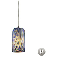 ELK Lighting Molten 1 Light Pendant in Satin Nickel 544-1MO-LA