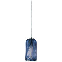 ELK Lighting Molten 1 Light Pendant in Satin Nickel 544-1MO