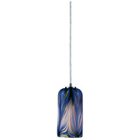 ELK Lighting Molten 1 Light Pendant in Satin Nickel 544-1MO-LED