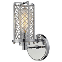 ELK Lighting Brisbane 1 Light Wall Sconce in Polished Chrome 55000/1