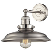 ELK Lighting Newberry 1 Light Wall Sconce in Satin Nickel 55020/1
