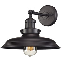 ELK Lighting Newberry 1 Light Wall Sconce in Oil Rubbed Bronze 55040/1
