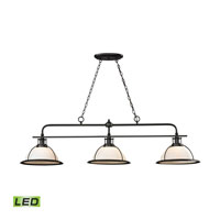 Wilmington LED 59 inch Oil Rubbed Bronze Billiard Light Ceiling Light