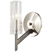 ELK 55070/1 Aspire 1 Light 5 inch Black Nickel with Polished Nickel Sconce Wall Light
