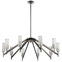 ELK 55076/10 Aspire 10 Light 39 inch Black Nickel with Polished Nickel Chandelier Ceiling Light alternative photo thumbnail