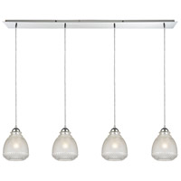 Victoriana 4 Light 46 inch Polished Chrome Linear Pendant Ceiling Light