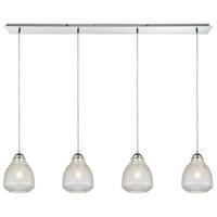 ELK 56590/4LP Victoriana 4 Light 46 inch Polished Chrome Mini Pendant Ceiling Light in Linear Linear