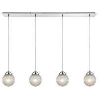 Victoriana 4 Light 46 inch Polished Chrome Pendant Ceiling Light