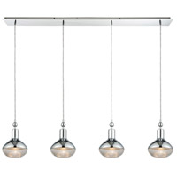 Ravette 4 Light 46 inch Polished Chrome Linear Pendant Ceiling Light