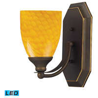 ELK Lighting Vanity 1 Light Bath Bar in Aged Bronze 570-1B-CN-LED